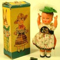 【動画有り】ダンスを踊る少女 1940年代製 オリジナル (US ZOON・ドイツ)【箱付き】
