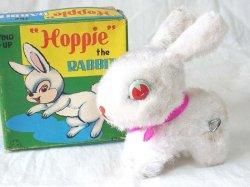 画像1: 【バーゲン】【動画有り】ぴょんぴょん跳ねる ウサギ 1960年代 富士プレス工業 日本製