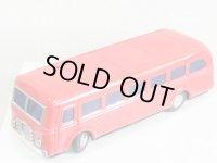 【不動品】世界初のラジコン玩具 増田屋ラジコンバス(レッド)1950年代製オリジナル バスのみ(増田屋・日本)