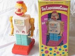 画像1: 【値下げ・処分品】笑うピエロ(The Laughing Clown)1960年代 ワコー 日本製 箱付き【動画有り】