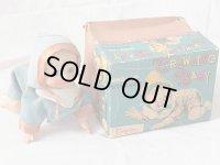 【可動品】ハイハイベービー 1950年代製オリジナル 箱付き (Cragstan 野村トーイ・日本)【動画有り】