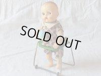 【バーゲン】【動画有り】歩行器で歩く赤ちゃん 1950年代 日本製