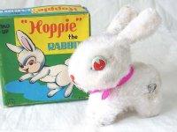 【バーゲン】【動画有り】ぴょんぴょん跳ねる ウサギ 1960年代 富士プレス工業 日本製