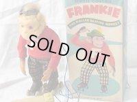 【バーゲン】【動画有り】【可動品】FRANKIE リモコンでローラースケートをするチンパンジー1950年代 アルプス社 日本製(箱付き)