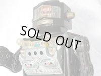 """【バーゲン】【動画有り】【難有り】""""ブリキのロボット宇宙飛行士""""""""名作:""""マシンガンむき出し""""タイプ""""ニュー スペース エクスプローラー 1960年代製造(ホリカワ・日本)"""