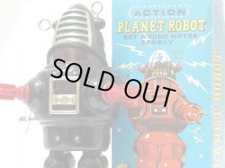 画像1: 【バーゲン】【動画有り】【美品】プラネット ブリキ ロボット 1970年代製造(KO(ヨシヤ)・日本)【箱付き】