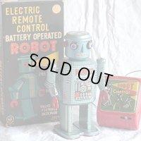 【バーゲン】【極上美品】ロボット R-35 1950年代製造 オリジナル 箱付き 【増田屋・LINE MAR TOYS(日本)】