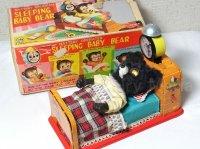【新価格】【バーゲン】【動画有り】早起きクマちゃん 1950代製オリジナル 箱付き(LINEMAR・日本)