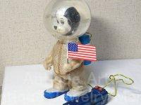 【バーゲン】【難有り】【原物動画有り】≪希少≫リモコン スヌーピーの宇宙飛行士 1960年代 米沢製