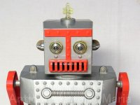 【1950年代】アメリカ レトロ ヴィンテージ IDEAL ロバート ザ ロボット【前期型】 手動リモコン駆動(箱付き)