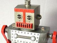 【1950年代】アメリカ レトロ ヴィンテージ IDEAL ロバート ザ ロボット【後期型】 手動リモコン駆動(箱無し)
