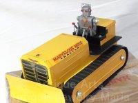 【動画有り】≪1950年代 アメリカ製≫大型 ブリキと鉄板で作られた ロボット トラクター MARVELOUS MIKE TRACTOR (箱付き)